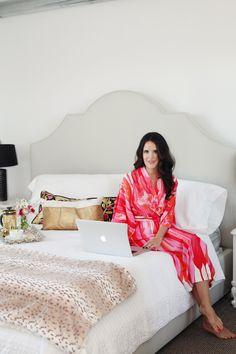 Style At Home: Amanda Dawbarn Of 100 Layer Cake | theglitterguide.com