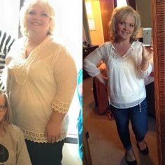 This is what the AMAZING....one of a kind, Saba 60 program can do - Karen is a changed person in 5 months and 50 pounds less!!
