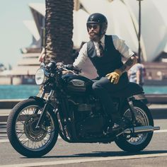 "caferacergram: ""@caferacergram by CAFE RACER www.facebook.com/caferacers #caferacergram #caferacer #caferacers 