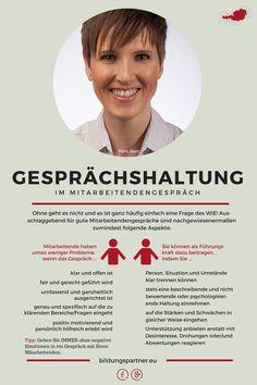 """Für Sie von der """"Pinnwand gepflückt"""": Miteinander reden. #Mitarbeitergespräch #Führung #Bildung"""