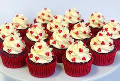 Red Velvet Cupcakes for Valentine's Day <3