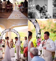 Destination Wedding Costa Rica | Indoor ceremony | Weddings by RIU | Riu Palace Costa Rica