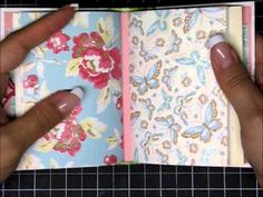 Mini Junk Journal with Paperbag Cover - YouTube