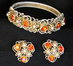 Magnificent HAR Demi Bracelet and Earrings