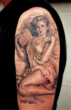 Tom Renshaw is an absolute genius when it comes to tattoos...and he's in Detroit!