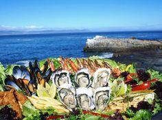 Seafood platter at Bientang's Cave Hermanus
