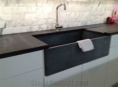 Soapstone Counters And Sink  I Want This! Teixeira Soapstone Countertop And  Sink, Remodelista