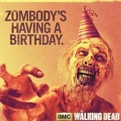 Zombie Birthday Fun!