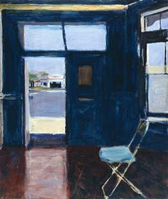 Richard Diebenkorn), Interior with Doorway, 1962. Oil on canvas, 70 1/4 x 60 inches. Pennsylvania Academy of the Fine Arts, Philadelphia, Henry D. Gilpin Fund © 2013 The Richard Diebenkorn Foundation