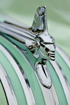 1951 Pontiac Streamliner Hood Ornament - by Jill Reger