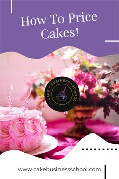 Learn the top tips for pricing your cakes without undercharging! Cake Business, Business Advice, Online Business, Pastry Cook, Cake Templates, Cake Pricing, Recipe For Success, Cake Online, Cake Makers