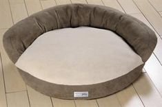 Memory Foam Dog Bed with High Back Bolster Get Great Night's Sleep with Nature's Sleep #naturessleep