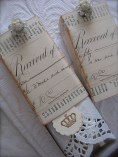 gift wrapping #gift #wrapping #giftwrapping #shabbychic #vintage