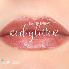 Part of the SeneGence Wonderland Collection, Red Glitter Gloss is a lightly tinted ruby gloss with sparkling red glitter. This gloss is perfect to top ANY LipSense coloror to wear alone!!! Grab a few extras for stocking of those you love - this is going to be a favorite and as a limited edition - it'll sell out fast. #redglittergloss #limitededition #senegence #lipsense #wonderland