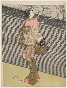 1767...1768......BY SUZUKI HARUNOBU..........PARTAGE OF UKIYO - E & SUMI - E........ON FACEBOOK.........