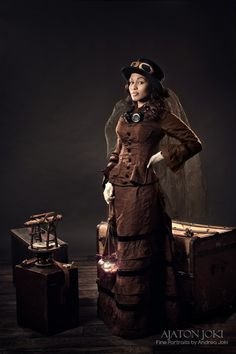 Steampunk travel clothes