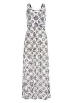 maxi dress with bar back in medallion print (original price, $39) available at #Maurices