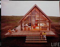 1 | The Legendary Jens Risom Shows Off His Hidden Prefab Beach Home | Co.Design: business + innovation + design