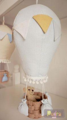 Uçan balon bebek odası dekoru / baby room decorating