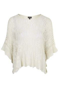 Stitched Poncho Top