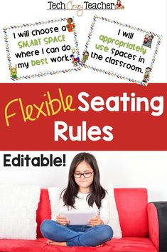 Flexible seating can help bring your classroom into the century. But there still has to be classroom rules, right? This resource contains 6 basic flexible seating rules to help integrate century seating in your classroom. 21st Century Schools, 21st Century Classroom, 21st Century Learning, Classroom Rules, Future Classroom, Classroom Activities, Spring Activities, Classroom Ideas, Teacher Resources