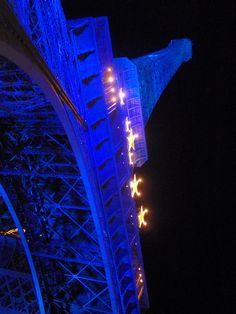 """Bleu Eiffel"". Paris. Francia"