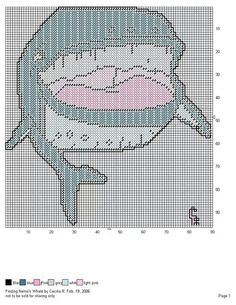 FINDING NEMO'S WHALE by CECILIA R. -- WALL HANGING