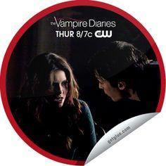 The Vampire Diaries: Shes Come Undone Sticker