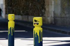 Intervenciones callejeras al estilo LEGO