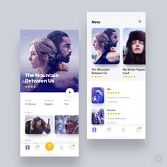738 отметок «Нравится», 6 комментариев — Design.bot (@design.bot) в Instagram: «Cinema app by Adrian Reznicek —  Follow us , Get Inspired!  @design.bot — Get featured! Tag your…»