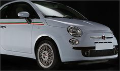 These rims make this Fiat 500 pop!