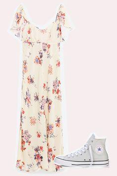 Blumenkleider, Boho-Dresses, Jeans-Kleider & Co.