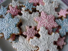 .Oh Sugar Events: Winter ONEderland Party COOKIES