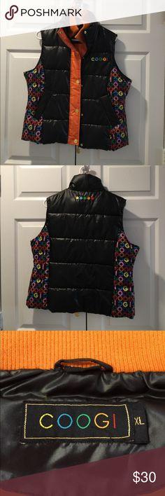 COOGI Puffer Vest COOGI Puffer Vest.  This is an XL but more like a Juniors XL, FYI. COOGI Jackets & Coats Vests