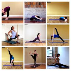 Stretches- tight hips