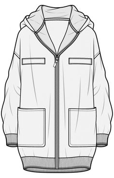 Fashion иллюстрация. Технический рисунок #hoodie #drawing #ref Fashion иллюстрация. Технический рисунок Fashion Illustration Sketches, Fashion Sketchbook, Fashion Sketches, Design Illustrations, Flat Drawings, Flat Sketches, Technical Drawings, Fashion Design Template, Fashion Templates