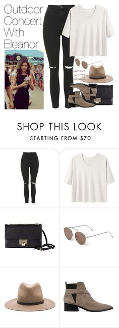 """Outdoor Concert with Eleanor"" by onedirectionimagineoutfits99 ❤ liked on Polyvore featuring Topshop, Alexander Yamaguchi, Jimmy Choo, Illesteva, rag & bone, Sigerson Morrison, Boohoo and Calder"