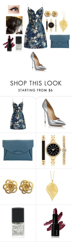 """wow"" by juju-mari-pie on Polyvore featuring Zimmermann, Casadei, Givenchy, Style & Co., Chupi, Luminess Air and Lane Bryant"