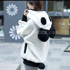 Light in the Box - Panda hoodie  #streetstyle