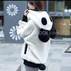 Light in the Box - Panda hoodie  #streetstyle
