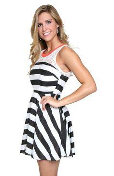 Embracing Change Change Embracing Dress Striped Striped Dress tq8TSS