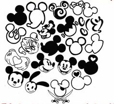 Small mickey mouse tattoo ideas