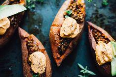 Vegan Lentil Sloppy Joe Sweet Potatoes — Will Frolic for Food Sloppy Joe, Vegetarian Recipes, Healthy Recipes, Eat Healthy, Lentil Recipes, Veggie Delight, Vegan Meal Plans, Healthy Comfort Food, Healthy Living
