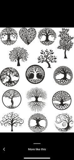 Band Tattoos For Men, Mom Tattoos, Body Art Tattoos, Small Tattoos, Tattoos For Guys, Tree Of Life Artwork, Tree Of Life Symbol, Norse Tattoo, Tree Tattoo Designs