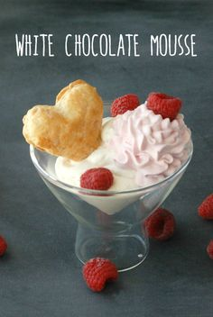 White chocolate mous...