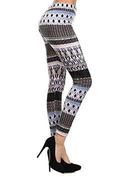 697e02998f486 Amazon.com: Belle Donne - Women's Classic Houndstooth Leggings: Clothing