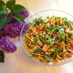 Edel's Mat & Vin : Pastasalat med pesto, skinke og linser ✿