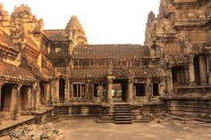 Central Temple, Angkor Wat - Cambodia