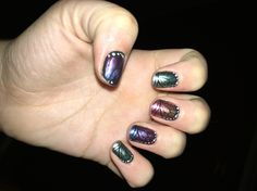 Butterfly Bliss with shiny top coat!