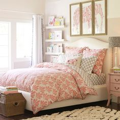RALEIGH FLORAL BEDROOM